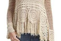 blusa de croche