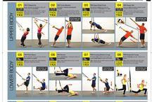Fitness / Oefeningen TRX
