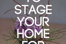 Stage your home for living