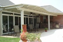 Covered Patios / Covered Patios featuring the Snap-N-Lock Insulated Panel, built by our customers.