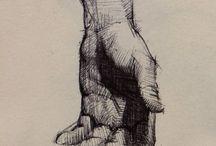 Kreslenie - Ruky