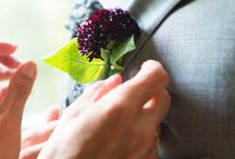 Boutonniere Ideas / Boutonniere ideas for brides. From sweet smelling boutonnieres to colorful flowers. Check out these ideas for your wedding.