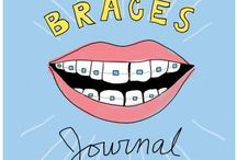 Brace yourself!  (Books about braces) / Interesting collection of fiction, non-fiction and other helpful books on how to best care for you braces.