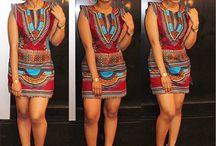 Vestido africano