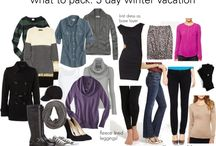 5 day winter oacking list