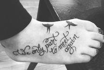 Tattoos / by Kaylee Hughes