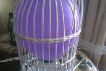 gaiola decoração