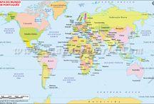 Maps in Portuguese language