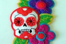 Dia de Los Muertos /FELT AND FABRIC