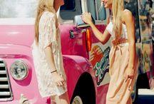Ice cream truck photo shoots