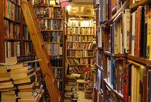 Library/Bookstore/Bookshelf Love