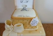 engagement cake