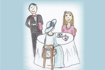 Manners and Etiquette / First Class Etiquette - new book with wonderful ideas for manners and the makings of a tea party.