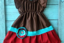 Turquoise and Red Combo