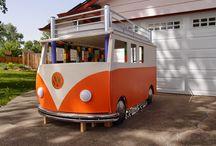 WS camper bus / by Blanche Thomsen