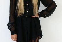 black is back pmtsl / Black eveything. Cause... I wear black everyday. / by Lexi Walker
