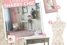 • DÉCO SHABBY CHIC •