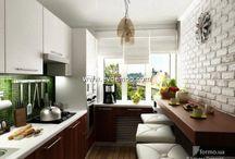 Küçük Mutfak Dekorasyonu / Küçük Mutfak Dekorasyonu