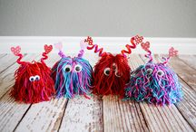 Kids Crafts Yarn