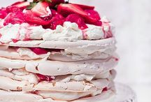 Pavlovas! / Pavlova ideas and recipes