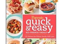 Kid Friendly / Kid Friendly recipes & snack ideas
