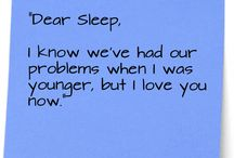 Funny sleep photos/quotes