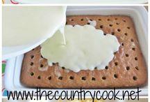 Cake Mix Treats, Dump Cakes & Refrigerator Cookie Dough / by Angel Posadas-Miller (Angel's Purple Pantry)