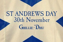 St Andrews Day / St Andrews Day is an important day in Scotland so here is a board to celebrate it in all its glory!