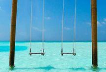 swinging, swaying