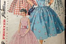 vintage women's patterns