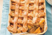 cobblers and pies / by Patty Mccandless