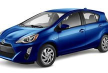 The 2016 Toyota Prius C @ Milton Toyota / Ideal for urban adventures, the agile and versatile 2016 Prius c features striking styling inside and out, including a sporty, assertive front end and unique piano black instrument panel.  Powered by Toyota's renowned Hybrid Synergy Drive, Prius c is as fuel-efficient as it is fun to drive. Available in two uniquely equipped models.