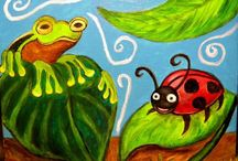 Frogs & Lady Bugs / by Gloria McDermott