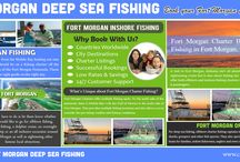 Fort Morgan Offshore Fishing / Visit this site https://www.charterboatbooker.com/location/united-states/alabama/fort-morgan-charter-boats/ for more information on Fort Morgan Offshore Fishing. Fort Morgan Offshore Fishing basically means to fish far from shore, or out of sight of the shoreline. This can mean a mile or many miles from the shore.