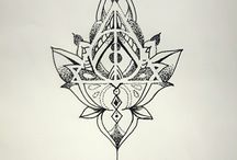 Tatoo deathly hallows