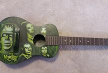 Airbrushed Guitars