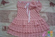 Crochet frocks