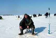 Ловля окуня зимой. Рыбалка на Байкале.