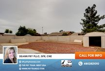 SOLD! NO HOA! Plenty of Space for Backyard Activities / 7037 W Taylor ST, Phoenix, AZ 85043 | CALL 480-282-1010 or 623-748-3818 for more info. You may also visit us at www.FryTeamAZ.com