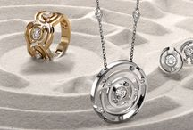 Maze / The collection re-creates the accurate and organised lines of a maze pictured from above.  Concentric circles grow outwards from central diamonds creating a rounded form that provides this bold and graphic collection with a soft and feminine feel.