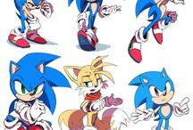 Sonic the hedgehog / Speed hedgehog