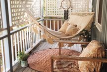 Boho porch set