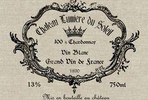 etichette vino stampabili