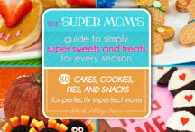 Simply Super Sweets for Every Season / Cookbook for Moms | Quick & Easy | Cooking With Kids | Holiday Recipes | Semi-Homemade Recipes | Super Moms 360 | Busy Moms Cookbook | Christmas Recipes | Halloween Recipes| Valentine's Day Recipes | Easter Recipes | Deborah Stallings Stumm