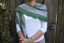 Scarfs and Shawls / scarfs, shawls, knitting, crochet, colour, yarn, style, fashion, craft, design, handmade