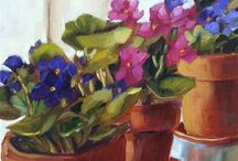 sztuka kwiaty