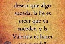 Valentía  / Reflexión