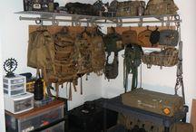 Survival Gear Room