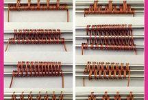 Tissage fil métallique
