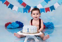 Aaron-1st Birthday Boy